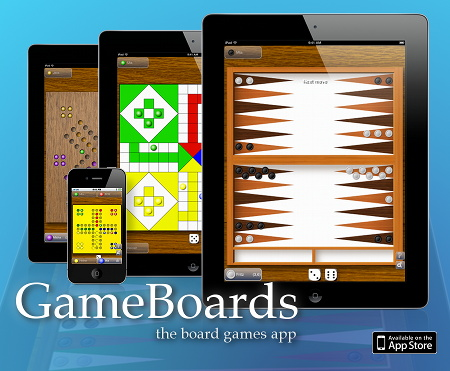 GameBoards - iOS App